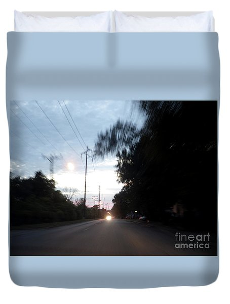 The Passenger 04 Duvet Cover
