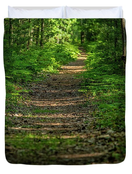 The Path Less Traveled Duvet Cover