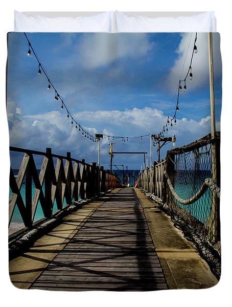 The Pier #3 Duvet Cover