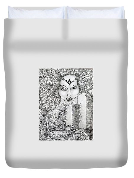 The Queen Of Oz Duvet Cover