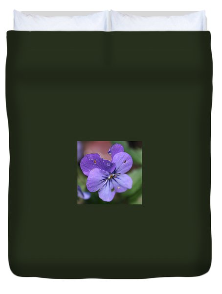The Raggedy Viola Duvet Cover