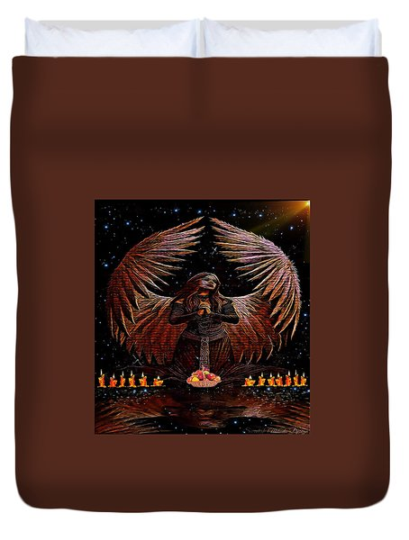 The Request Duvet Cover