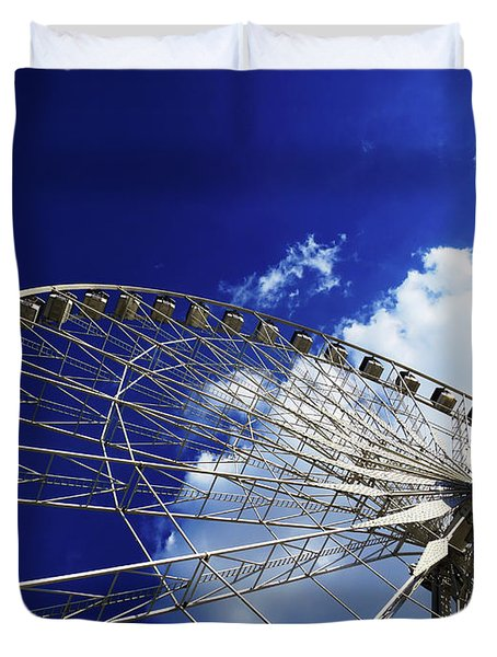 The Ride To Acrophobia Duvet Cover