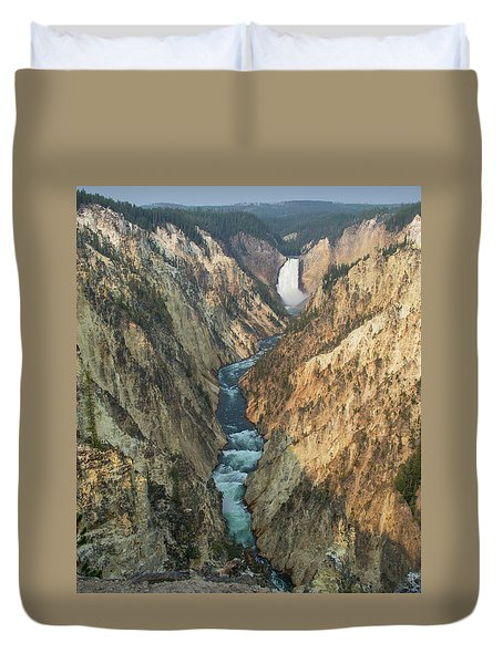 The River Duvet Cover