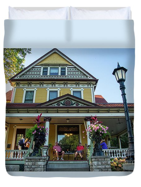 The Rivertown Inn Stillwater Minnesota Duvet Cover