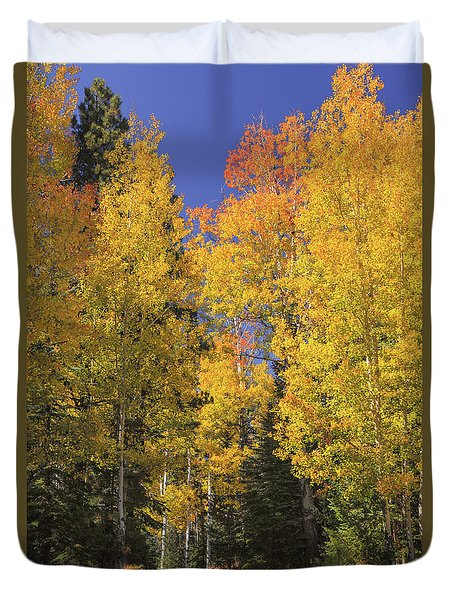 The Road A Little Less Traveled Duvet Cover