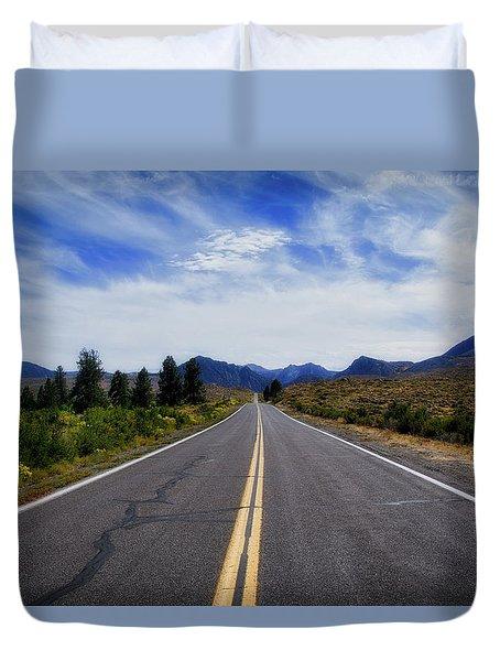 The Road Best Traveled Duvet Cover