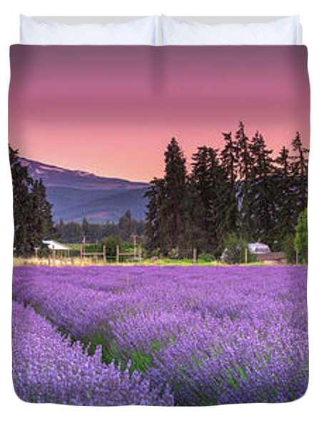 The Road To Mt Hood  Duvet Cover