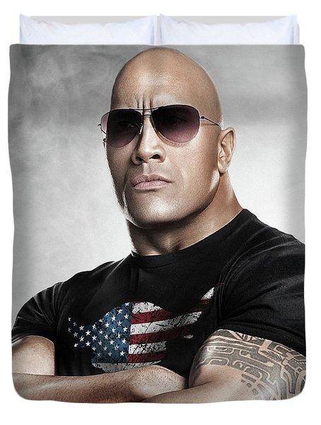 The Rock Dwayne Johnson I I Duvet Cover