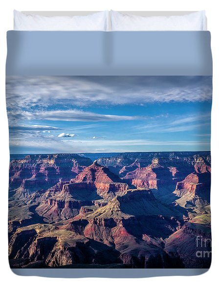 The Rugged Grand Canyon Duvet Cover