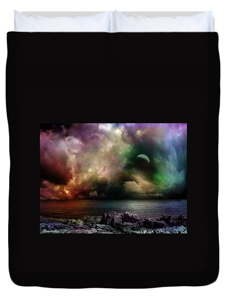 The Sacred Storm Duvet Cover