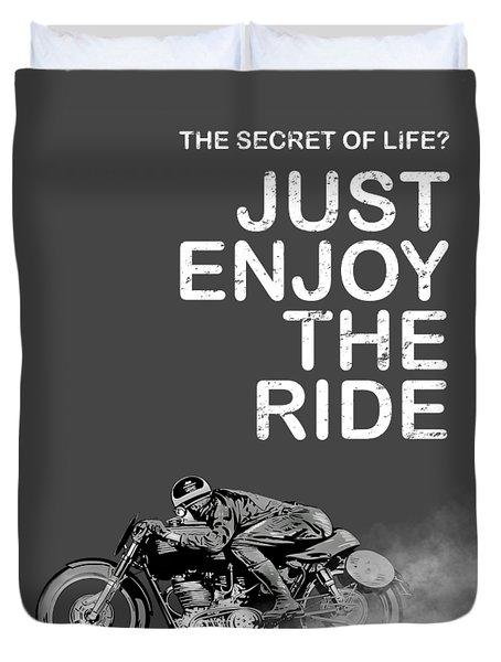 The Secret Of Life Duvet Cover