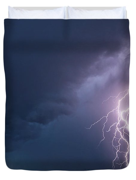 The Sky Is Alive Duvet Cover