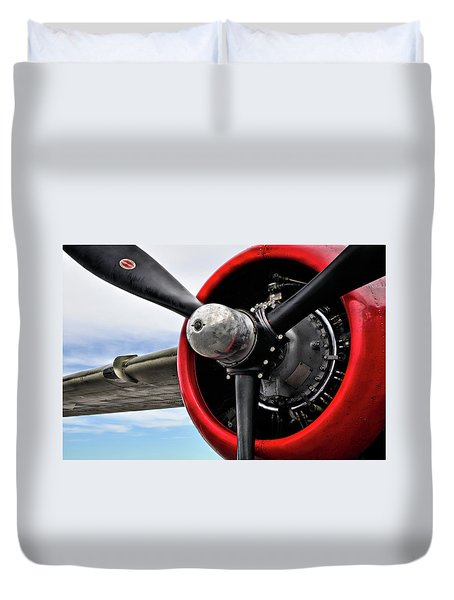 The Sky's The Limit Duvet Cover