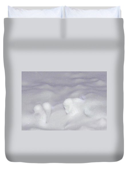 The Snow Drifter Duvet Cover
