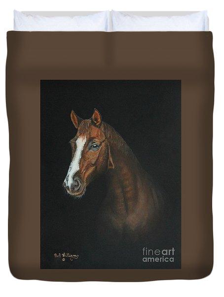 The Stallion Duvet Cover