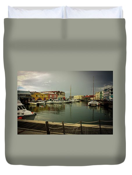 The Storm's A Coming. Duvet Cover