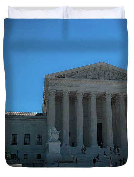 The Supreme Court Duvet Cover