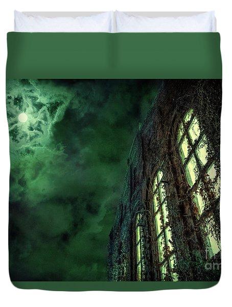 The Third Dimension Duvet Cover