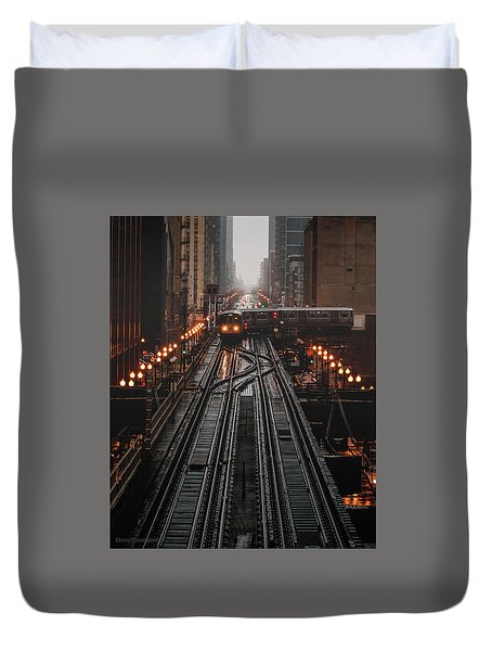 The Turn Duvet Cover