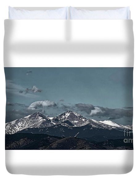 The Two Guides Duvet Cover