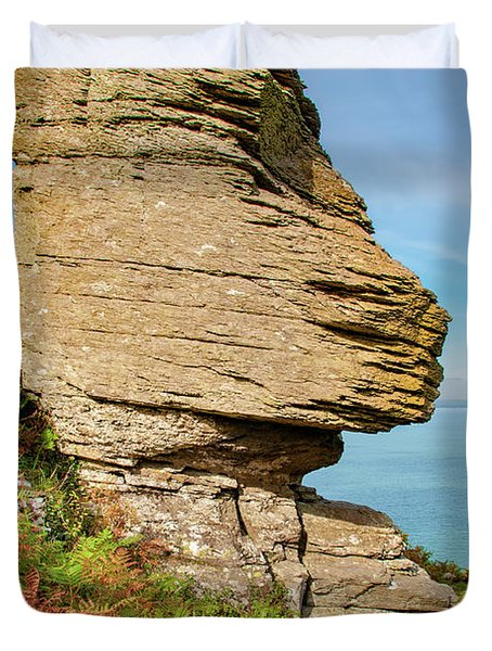 The Valley Of The Rocks Duvet Cover