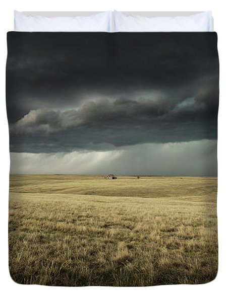The Weight Of The World Duvet Cover