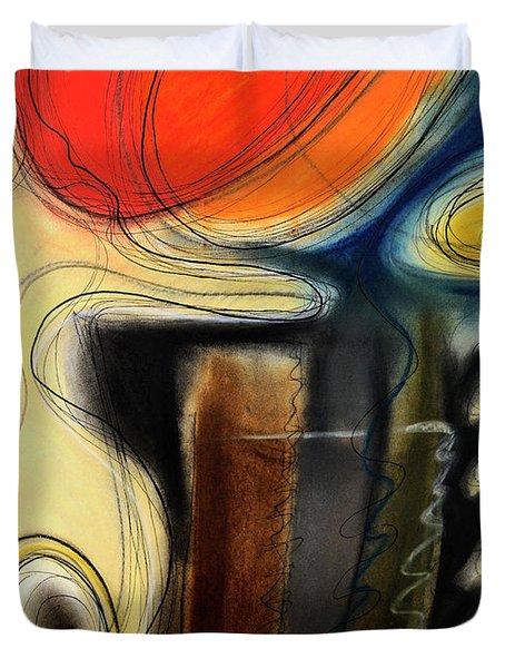 The Whirler Duvet Cover