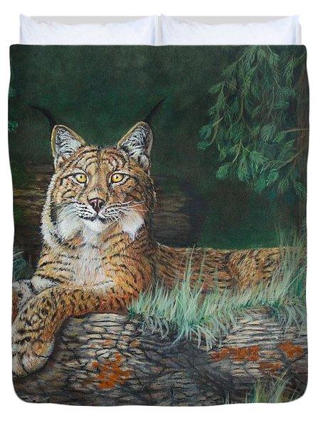 The Wild Cat  Duvet Cover
