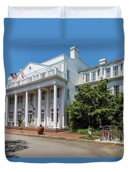 The Willcox Hotel - Aiken Sc Duvet Cover