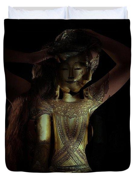 The Woman Beneath Duvet Cover