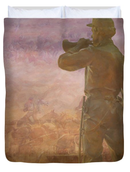 These Honored Dead Gettysburg  Duvet Cover