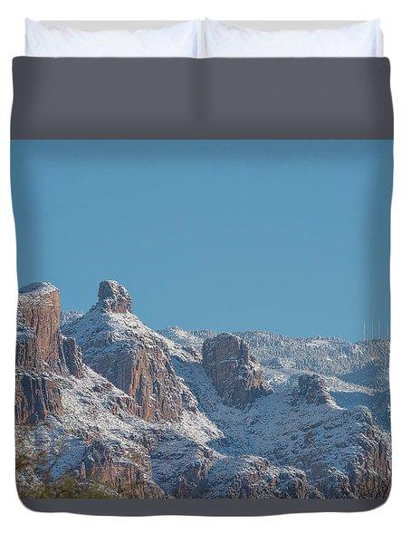 Thimble Peak Snow Day Duvet Cover