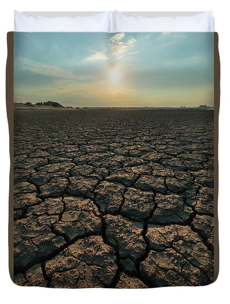 Thirsty Ground Duvet Cover