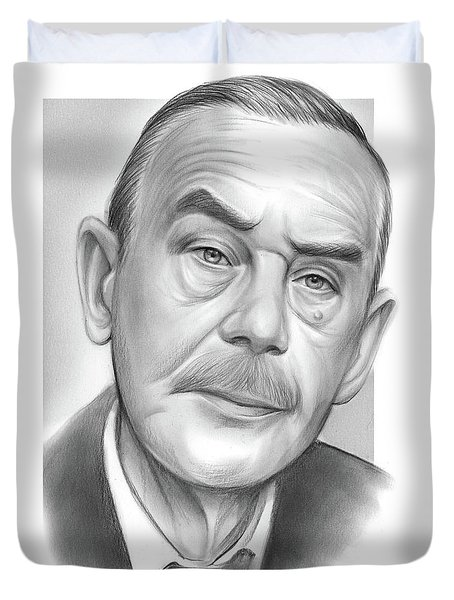 Thomas Mann Duvet Cover