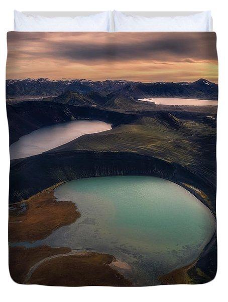 Three Lakes Duvet Cover