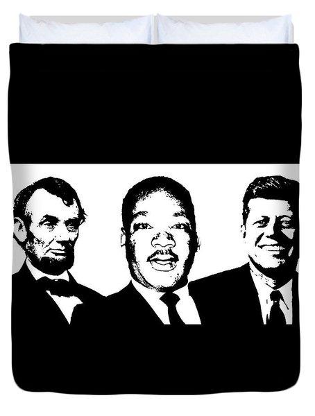 Three Leaders Duvet Cover