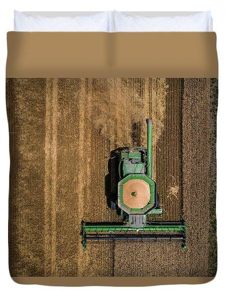 Through Wheat Duvet Cover