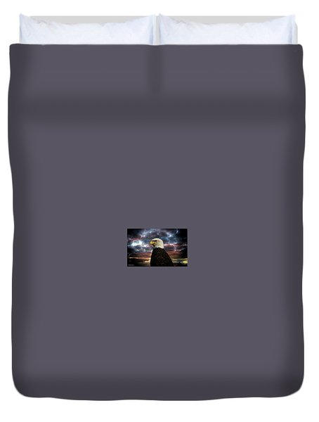 Thunder Eagle Duvet Cover
