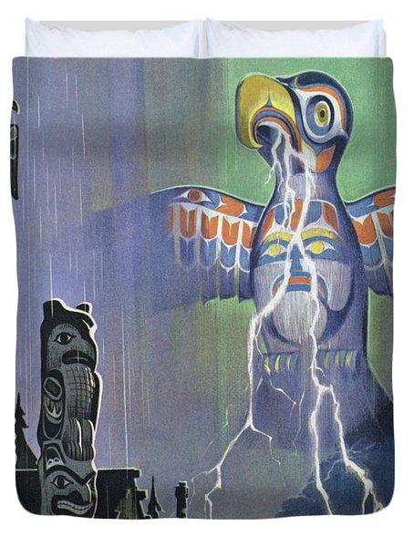 Thunderbird Duvet Cover