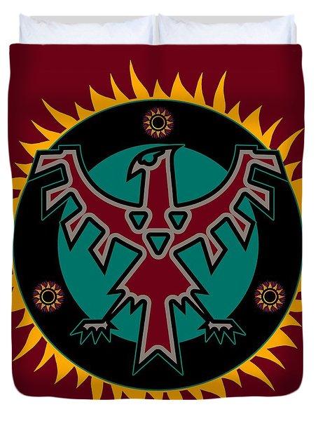 Thunderbird Eclipse Duvet Cover