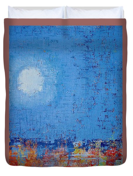 Tidepool Original Painting Sold Duvet Cover