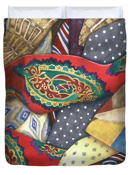 Tie One On Duvet Cover