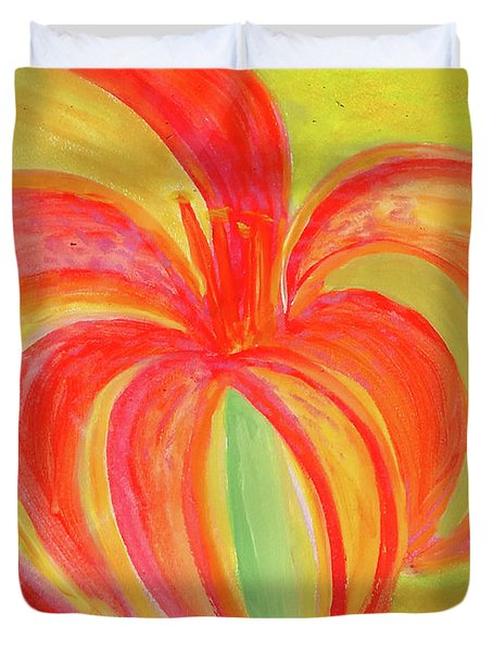 Tiger Tiger Lily Lily Duvet Cover