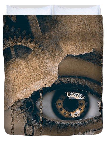 Time Glance Duvet Cover