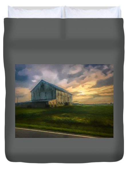 Time To Wake Duvet Cover