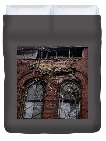 Time's Cathedral Duvet Cover