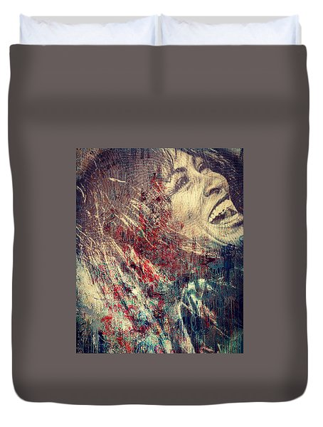 Tina Turner Spirit  Duvet Cover