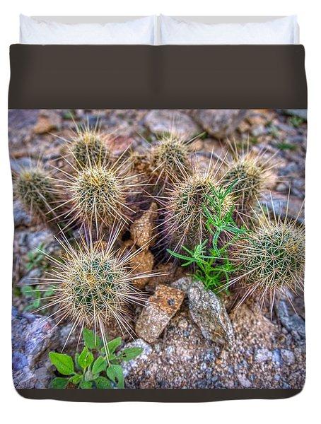 Tiny Cactus Duvet Cover