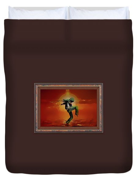 Tip Toe Dancer Duvet Cover